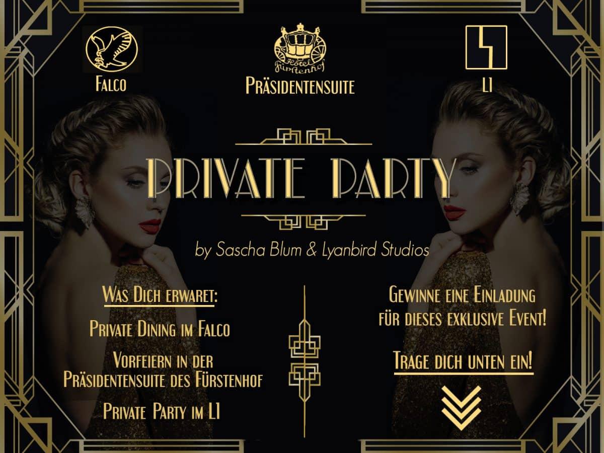 Private Party by Sascha Blum & Lyanbird Studios